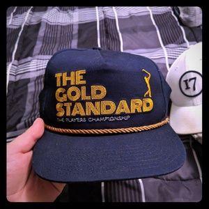 Players Championship blue snapback hat